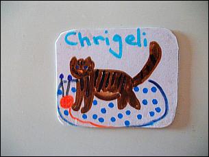 Chrigeli-Kühlschrankmagnet